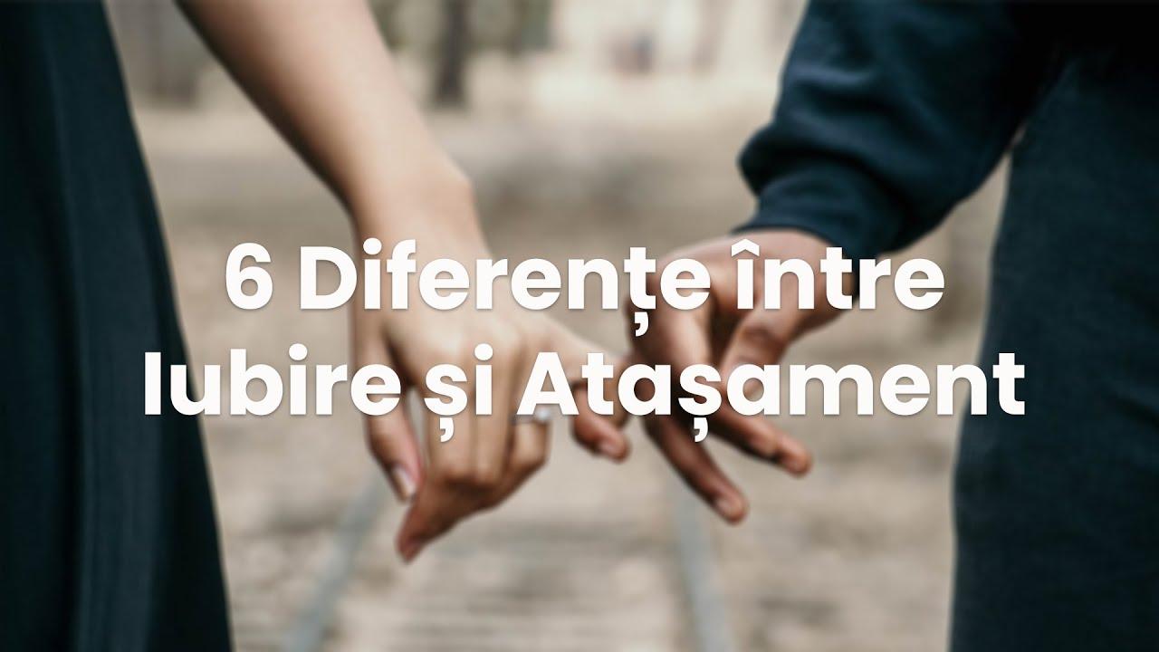6 Diferențe între Iubire și Atașament #WEBINAR