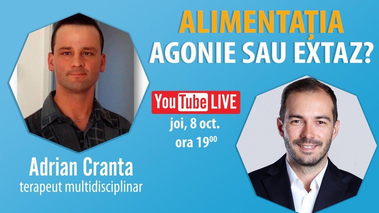 Interviu Cu Adrian Cranta | Alimentația: Agonie Sau Extaz?