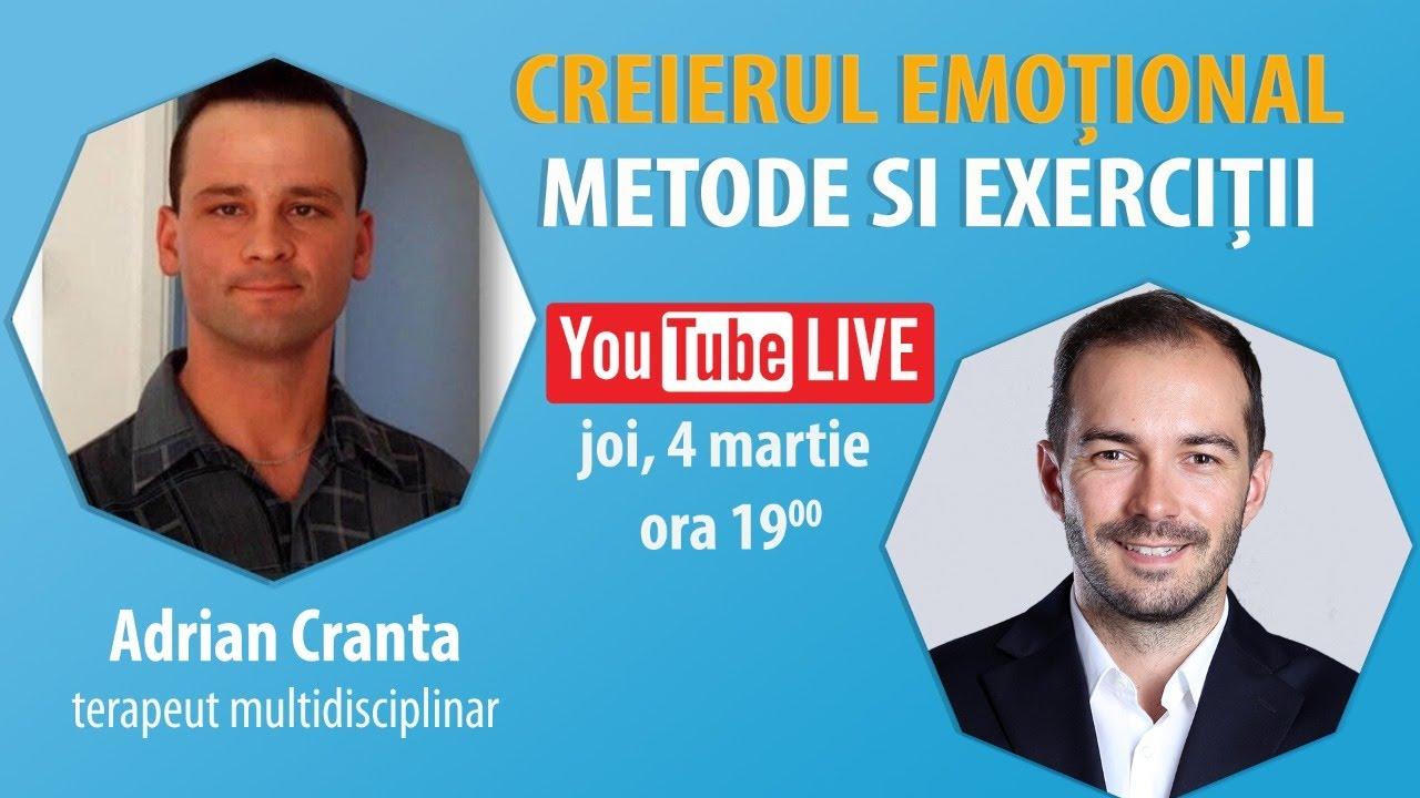 Interviu Cu Adrian Cranta | Creierul Emoțional – Metode Si Exerciții
