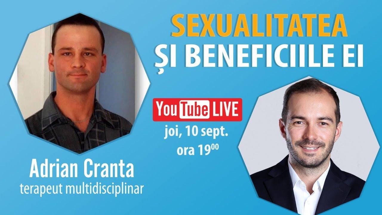 Interviu Cu Adrian Cranta | Sexualitatea Si Beneficiile Ei