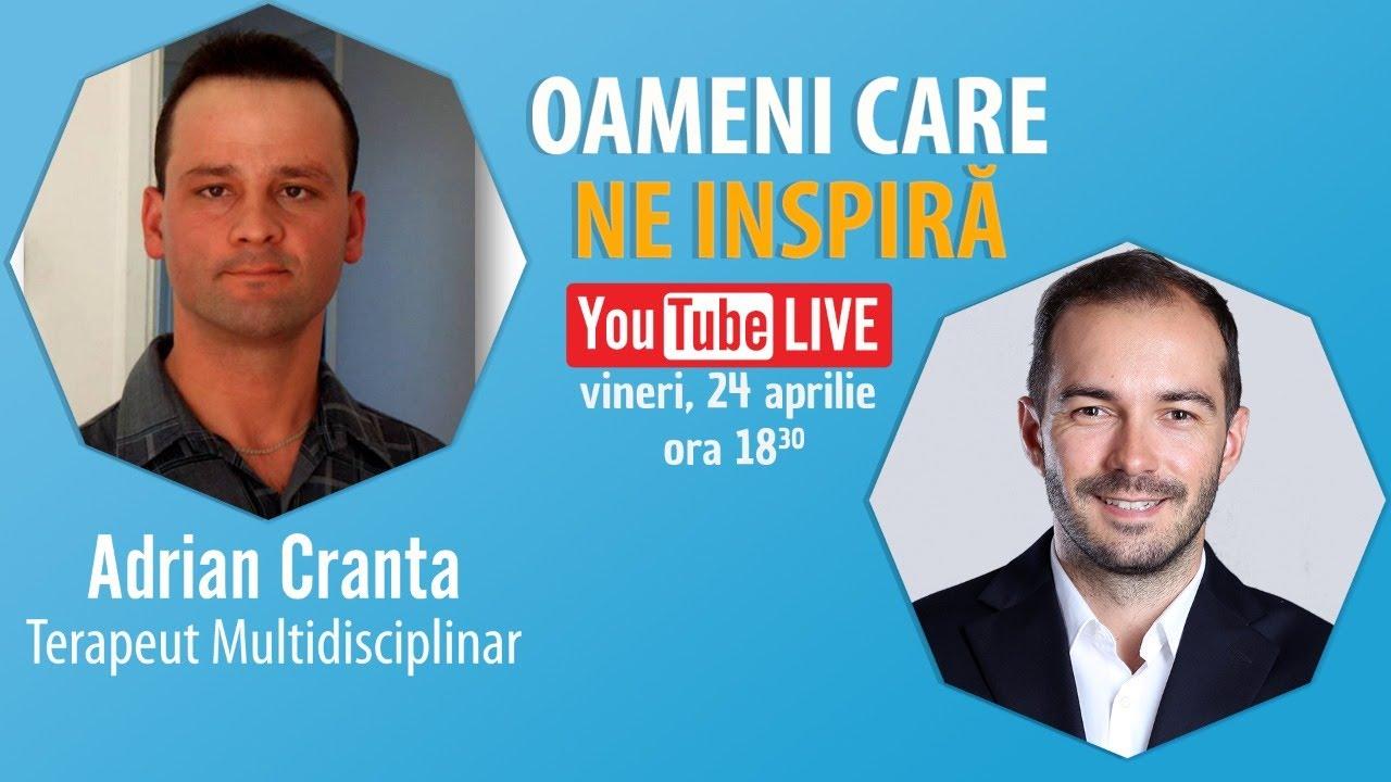 Interviu Cu Adrian Cranta – Terapeut Multidisciplinar – #OameniCareNeInspira