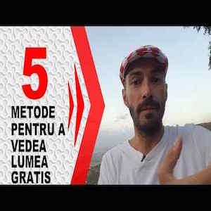 5 Metode pentru a Călători GRATIS!