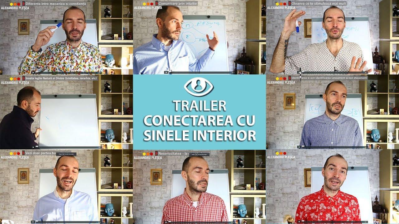 Conectarea Cu Sufletul / Sinele Interior – TRAILER Curs Video, Audio Si PDF